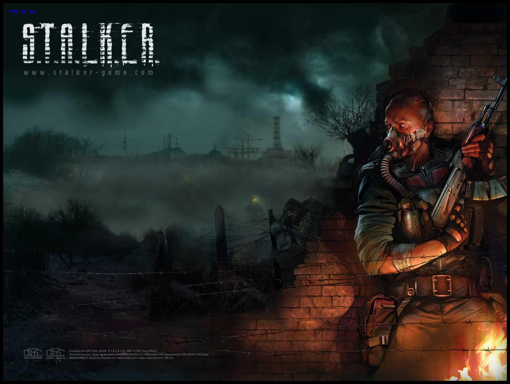 STALKER S.T.A.L.K.E.R. Shadow of Chernobyl Игры Обои и фото.